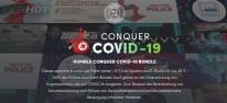 """Humble Bundle: """"Humble Conquer COVID-19 Bundle"""" mit über 40 Spielen; 100 Prozent der Erlöse werden gespendet"""