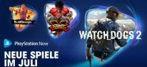 PlayStation Now: Juli-Update mit Watch Dogs 2, Street Fighter 5 und Hello Neighbor