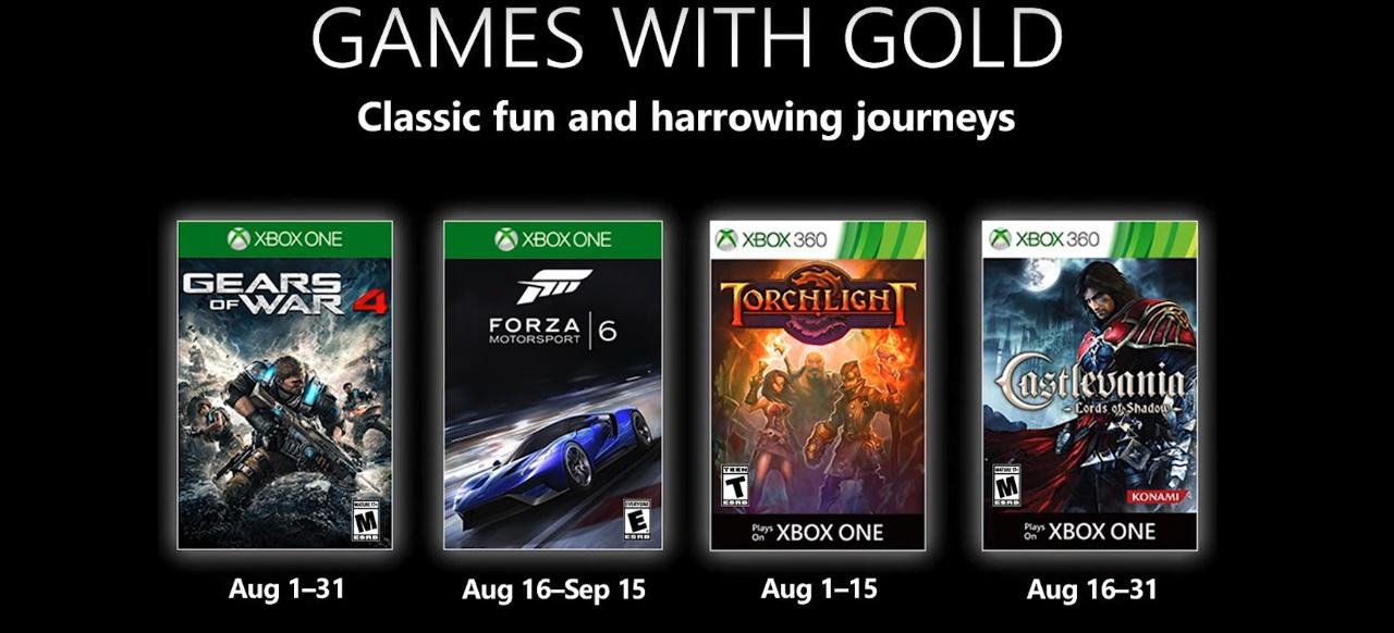 Xbox Games with Gold (Service) von Microsoft