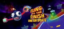 Fling to the Finish: Chaotischer Koop-Racer erhält explosives Update