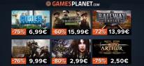 Gamesplanet: Anzeige: Frische Angebote, z.B.  Cities Skylines für 6,99 Euro oder Hearts of Iron 4 für 15,99 Euro