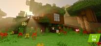 Minecraft: Fünf weitere Welten für die RTX-Beta