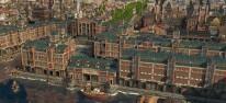 Anno 1800: Season 3: Drei Erweiterungen mit Speicherstadt, Touristen, Buslinien und Hochhäusern angekündigt