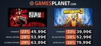 Gamesplanet: Anzeige: Wochenend-Rabatte, u.a. Red Dead Redemption 2 und Borderlands 3 bis zu 33% günstiger