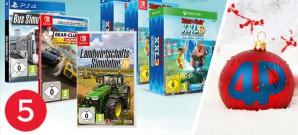 Jeden Tag neue Gewinnchancen, heute: Spielepakete von Astragon u.a. mit Asterix & Obelix XXL 3