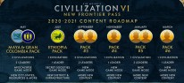 Civilization 6: New Frontier Pass: Season Pass mit sechs DLC-Paketen angekündigt