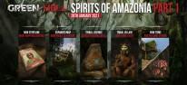 Green Hell: Spirits of Amazonia: Erster Teil der Vorgeschichte für PC verfügbar