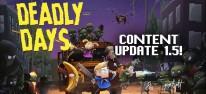 Deadly Days: Der frisch aktualisierte Überlebenskampf beginnt bald auch auf Switch