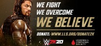 WWE 2K20: Leukämie-Spendenaktion mit Roman Reigns als Teil der Marketingkampagne