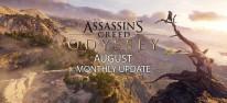Assassin's Creed Odyssey: Überblick über die August-Inhalte