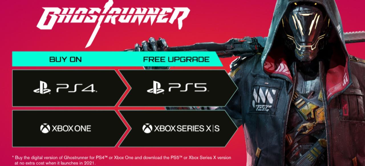 Ghostrunner (Plattformer) von All in! Games / 505 Games