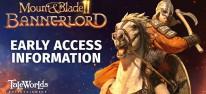 Mount & Blade 2: Bannerlord: Early Access soll Ende März beginnen und ein Jahr dauern