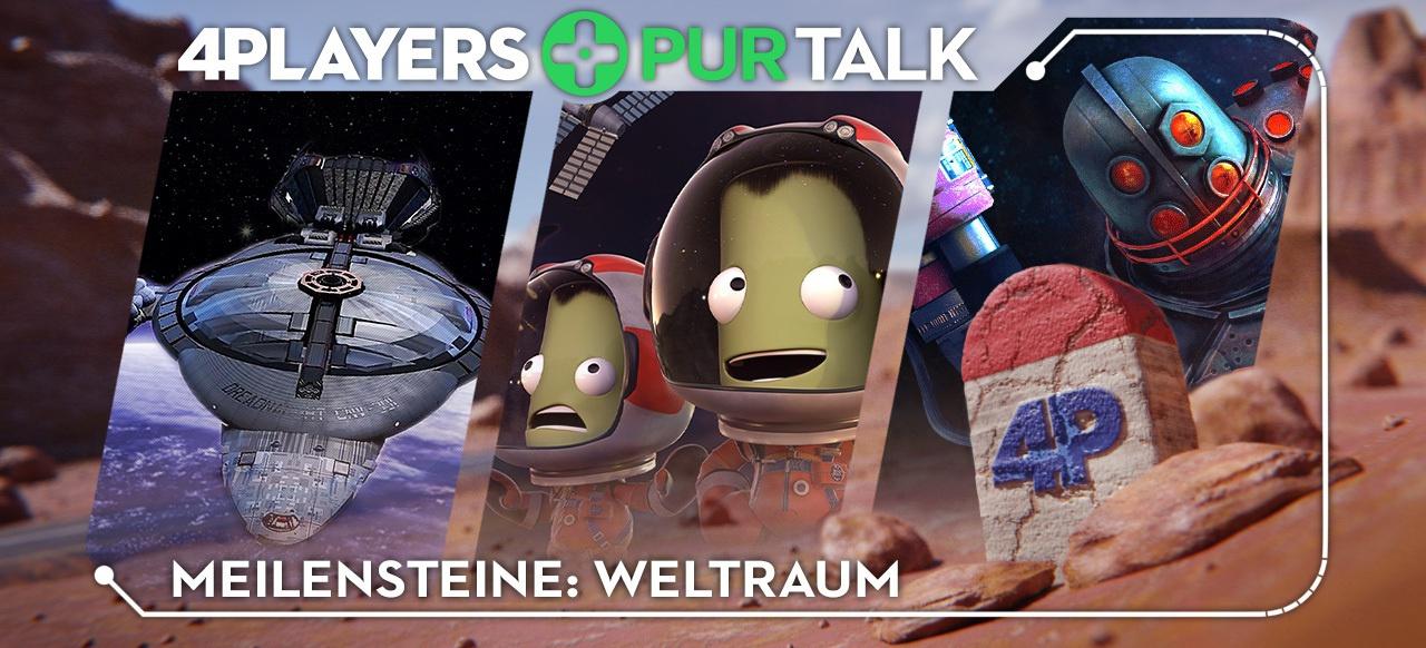 Drei Redakteure, drei Meilensteine: Weltraum-Spiele