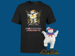 Product Image Ghostbusters Stay Puft Marshmallow Collectible + T-Shirt Bundle