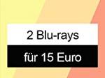 Product Image 2 Blu-rays für 15€