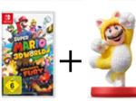 Product Image Super Mario 3D World + Bowser's Fury+ Amiibo Doppelpack Katzen-Mario/Katzen-Peach