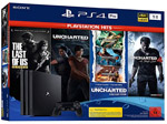 Product Image PlayStation 4 Pro 1TB Konsole inkl. NaughtyDog Bundle mit sechs Spielen