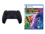 Product Image Sony DualSense Controller Midnight Black + Ratchet & Clank: Rift Apart