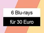 Product Image 6 Blu-rays für 30 Euro