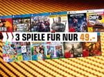 Product Image 3 Spiele für 49,- €