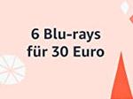 Product Image Blu-rays: 6 für 30 Euro