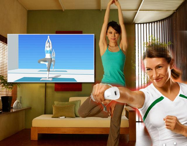 Fitnessspiele <br><br> Eigentlich sind Fitnessspiele eine tolle Sache: Endlich hängen die Spieler nicht mehr nur im Sofa und werden fett, sondern bewegen sich auch mal. Kinect ftw!!! Weshalb man trotzdem ernsthaft darüber nachdenken sollte, Titel wie YourShape, Get Fit with Mel B oder EA Sports Active von den Händlerregalen zu verbannen, wird schon offenkundig, bevor man die Spiele überhaupt startet: Die Cover sehen in der Regel einfach verboten aus! 2192587