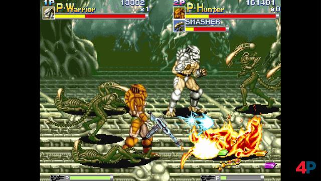 Alien VS. Predator: Schon zehn Jahre vor dem Kinofilm ließ Capcom die Leinwand-Monster gegeneinander antreten.