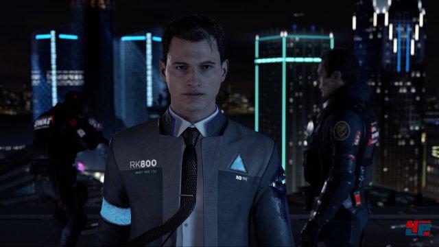 Der T-1000 lässt grüßen: Cop-Androide Connor bleibt auch in brenzligen Lagen wie einer Geiselnahme die Ruhe selbst.