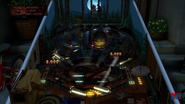 Nachtmissionen, bei denen Elliot mit dem Außeridischen auf dem Rad im Hintergrund durch die Gegend fliegt: Auch der Tisch zu E.T. bietet viele der unrealistischen Elemente, die seit jeher den Reiz der Zen-Flipper ausmachen.