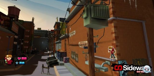 Screenshot - Sideway: New York (PlayStation3)