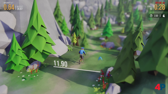 Screenshot - Lonely Mountains: Downhill (Linux) 92599372