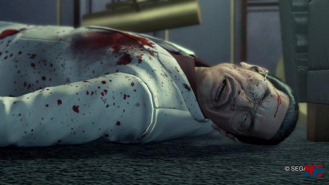Die Animationen und Kamerabewegungen des Originals werden mit der Technik aktueller Yakuza-Spiele dargestellt.
