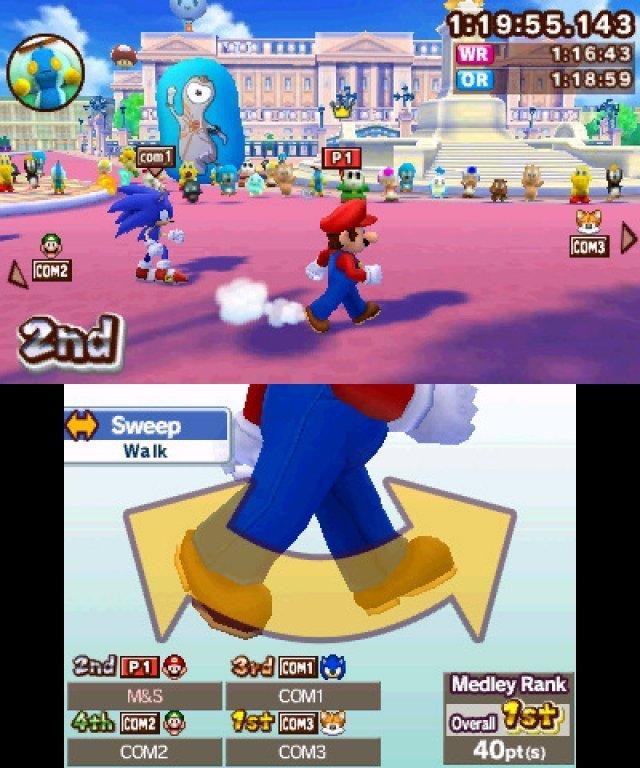 Screenshot - Mario & Sonic bei den Olympischen Spielen: London 2012 (3DS) 2304912