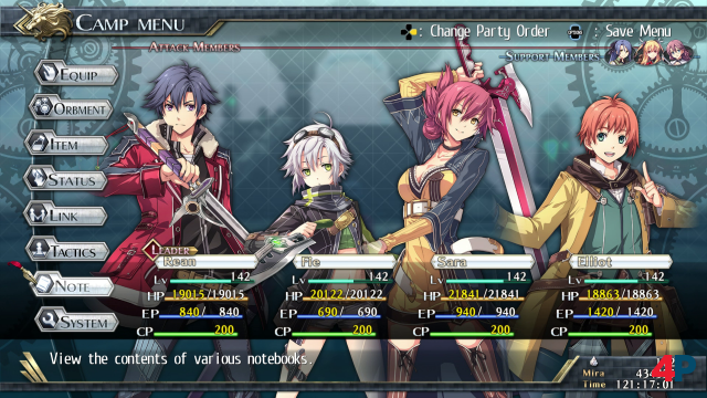 Screenshot - The Legend of Heroes: Trails of Cold Steel 2 (PS4) 92589258