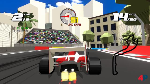 Screenshot -  Formula Retro Racing (PC)