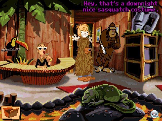 Screenshot - Sam & Max Hit the Road (PC) 92431952