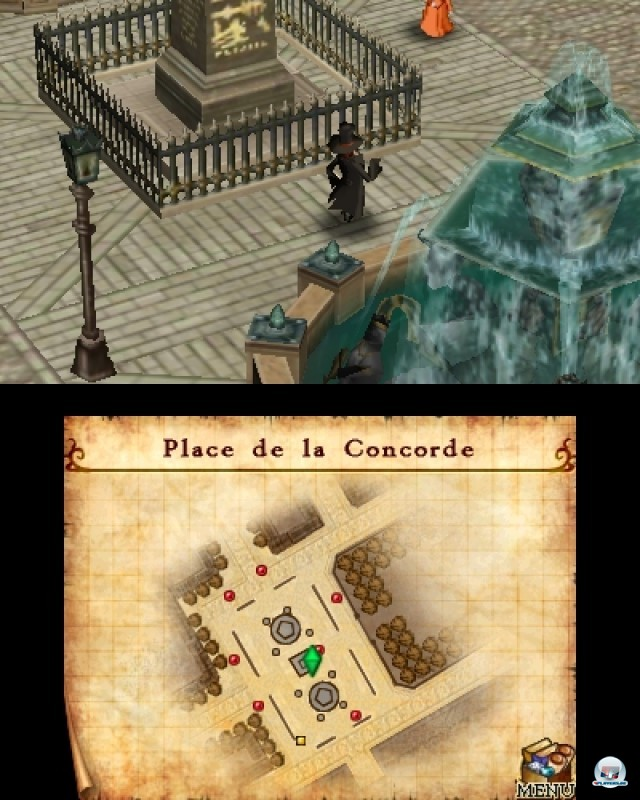 Screenshot - Doctor Lautrec and the Forgotten Knights (3DS)