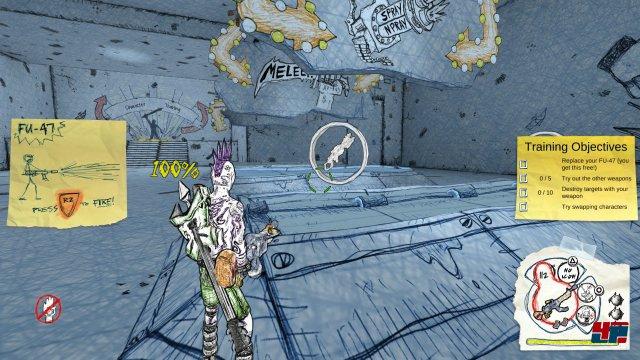 Screenshot - Drawn to Death (PS4) 92544155