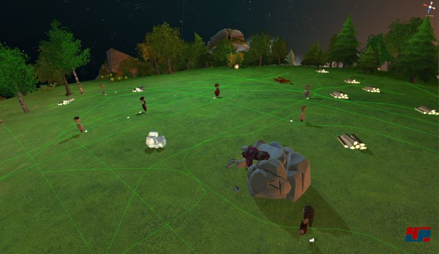 Screenshot - The Universim (Linux)