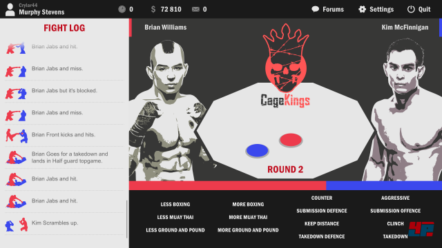 Screenshot - Ultimate Fight Manager 16 (Android)