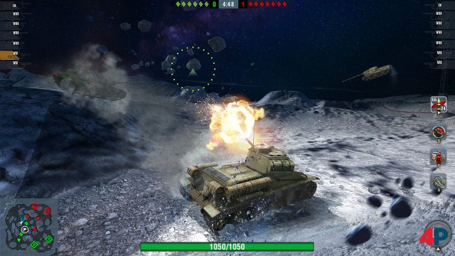 Screenshot - World of Tanks Blitz (Switch)