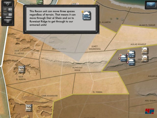 Screenshot - Desert Fox: The Battle of El Alamein (iPad)