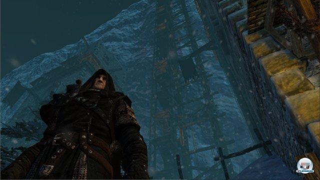 Man spielt abwechselnd zwei Charaktere: Hier der bärbeißige Mors, der bei der Nachtwache als Grenzer dient.