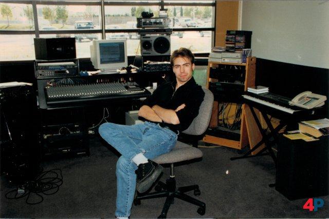 Frank Klepacki vor über 25 Jahren ...