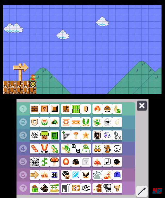 Screenshot - Super Mario Maker (3DS) 92537096