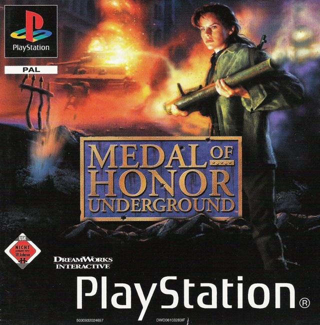 Medal of Honor: Underground (2000) <br><br> Im Nachfolger, der ebenfalls von DreamWorks Interactive entwickelt wurde, stehen vor allem verdeckte Einsätze im Mittelpunkt, wenn man als Kämpfer des französischen Widerstandes neben Deutschland u.a. auch in Griechenland, Italien und Nordafrika gegen das Dritte Reich kämpft. Ungewöhnlich: Der Spieler übernimmt hier mit Manon Batiste die Rolle einer weiblichen Hauptfigur. Underground teilt das Schicksal seines Vorgängers und ist hierzulande ebenfalls indiziert. 2002 erfolgte eine Umsetzung für den GBA, für die Rebellion verantwortlich zeichnet. Dabei wurde allerdings deutlich, dass die Hardware nicht unbedingt für Ego-Shooter gemacht ist...  2167418