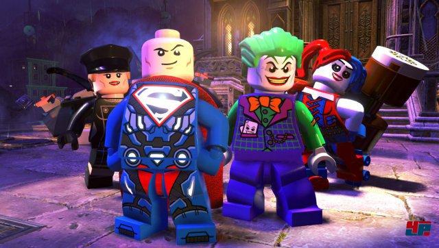 Joker und Harley Quinn werden dem Treiben der mutmaßlichen Helden nicht tatenlos zuschauen.