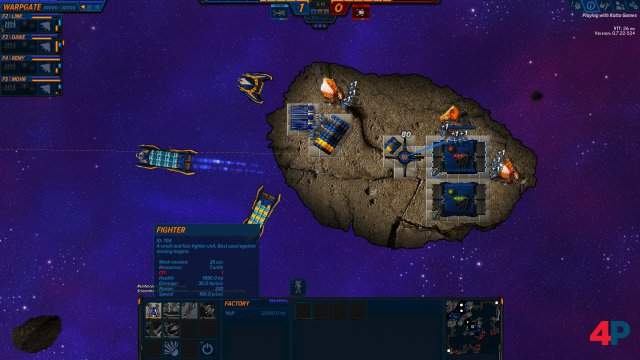 Screenshot - Asteroid Fight (PC) 92610024