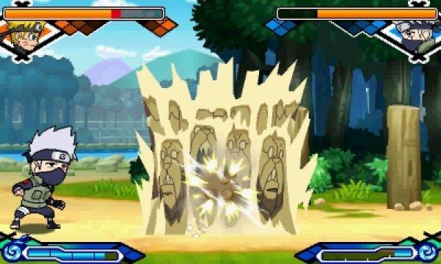 Screenshot - Naruto: Powerful Shippuden (3DS)