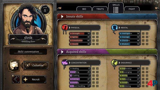 Screenshot - Dead in Vinland (Switch)